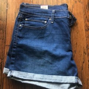 Levi Darkwash Jean Shorts !NEVER WORN!
